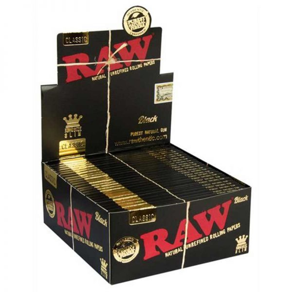 raw black vloei