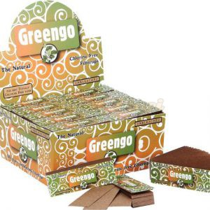 Greengo ongebleekte filtertips