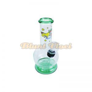 Mini bubble bong 13cm unicorn